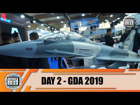 GDA 2019 Day 2 Gulf Defense - Aerospace - Homeland Security International Exhibition Kuwait