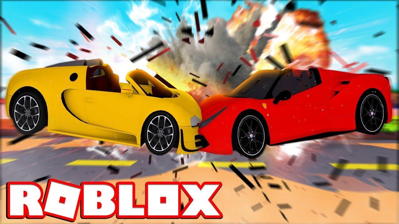 Worst Car Crash In Roblox Roblox Car Crash Simulator Youtube