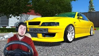 ДИКИЙ ЧАЙЗЕР В ГОРОДЕ - City Car Driving + РУЛЬ