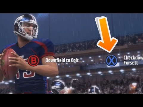 What Happens if Devin Wade Throws the Checkdown Instead of To Colt? *IMPORTANT* MADDEN 19 LONGSHOT