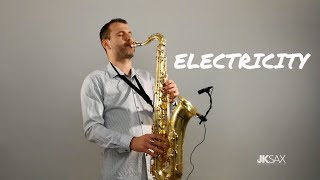Silk City, Dua Lipa - Electricity ft. Diplo, Mark Ronson - JK Sax Cover Video