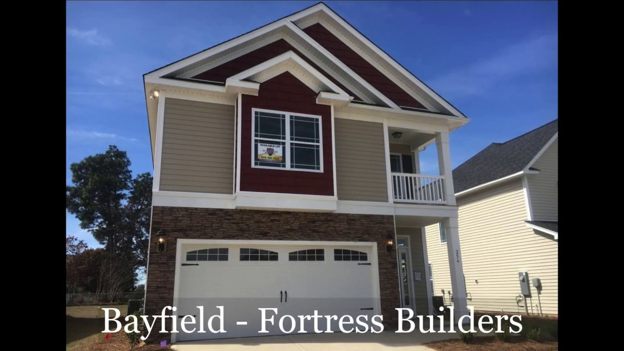 New Home Bayfield Plan Lexington Sc Fortress Builders