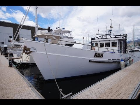 50ft Commercial Fishing Vessel