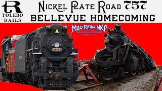 Nickel Plate Road 757's Bellevue Homecoming