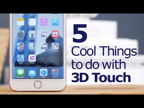 5 Cool Things to do with 3D Touch!