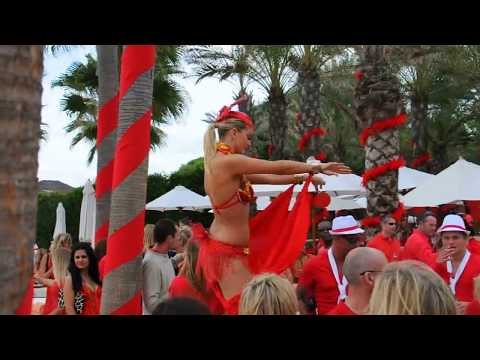 Nikki Beach Marbella  Red Closing Party´s  Gefeiert wird in schillernden Rot