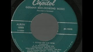 ALFONS BAUER - HIS ZITHER AND ORCHESTRA - German Beer-Drinking Music - side 1 and 2 of 2