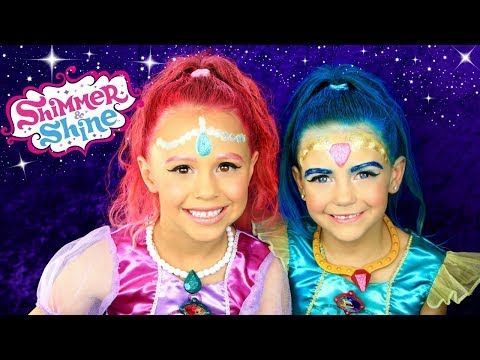 Thumbnail: Shimmer and Shine Full Makeup, Hair, and Costumes