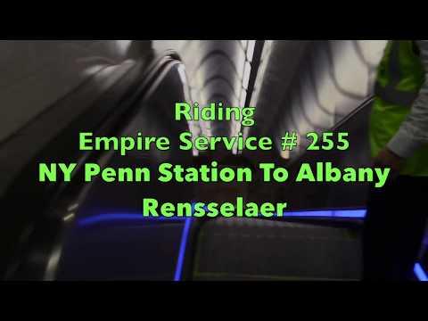 Traveling on Amtrak Empire # 255