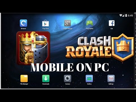 HOW TO PLAY ANY ANDROID GAME ON PC - NOX APP PLAYER - CLASH OF KINGS - CLASH ROYALE - CLASH OF CLANS
