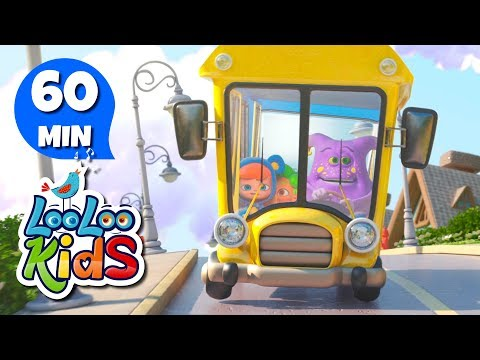 The Wheels On the Bus  Learn English with Songs for Children  LooLoo Kids