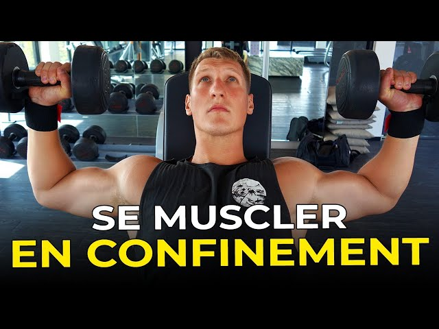 Comment continuer à se muscler en confinement ?