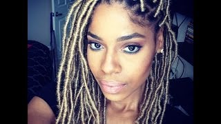 Loc Extensions Tutorial ( How to using Marley Hair)