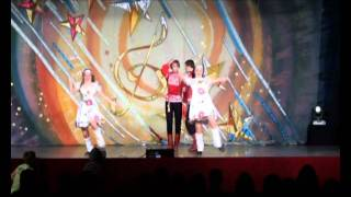 """Созвездие Будапешта 2011"" - ансамбль танца ""Забава"""