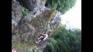 Blair Atholl river jumping