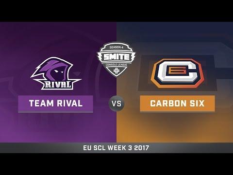 SCL Spring Split EU Week 3 Team Rival vs. Carbon 6 Game 2