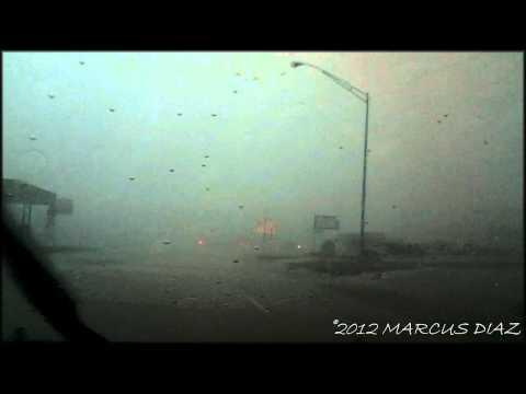 April 13, 2012 INSIDE the Blair, OK Tornado