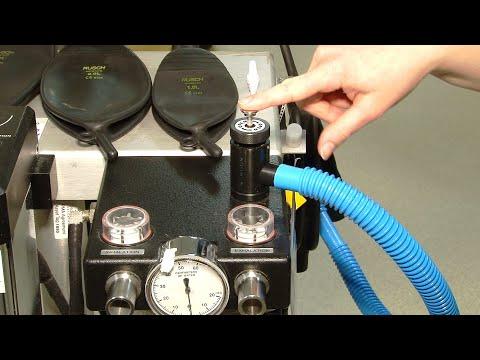 anesthesia machine setup non rebreathing system. Black Bedroom Furniture Sets. Home Design Ideas