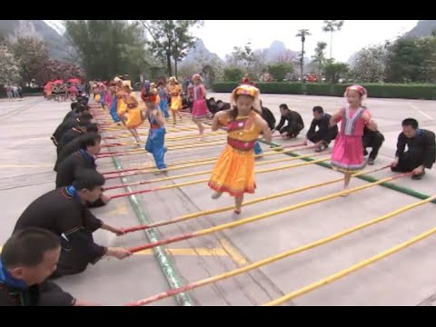 Zhuang Ethnic Group Celebrated Lunar March 3 Festival in south China's Guangxi