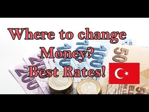 Where To Change Money In Istanbul? Best Currency Exchange Rates. (2019)