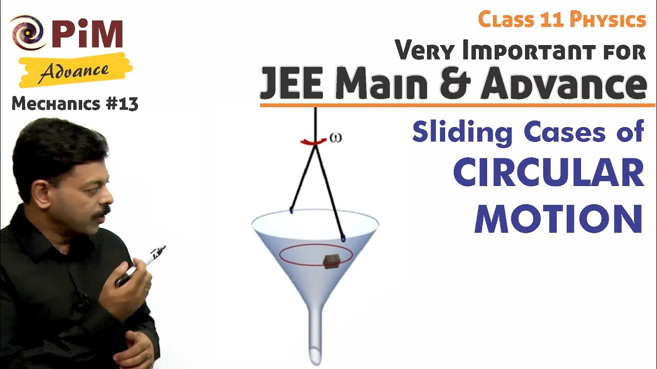 Sliding Cases of Circular Motion for JEE Advanced 2020 | Mechanics #13
