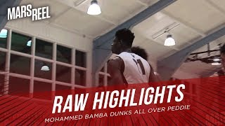 Mohammed Bamba DUNKS All Over Peddie In WIN | RAW HIGHLIGHTS | Mars Reel