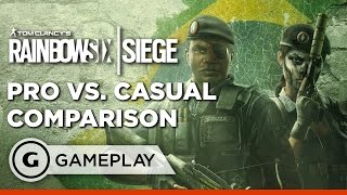 The Speed of Casual vs Pro Play in Rainbow Six Siege: Skull Rain DLC