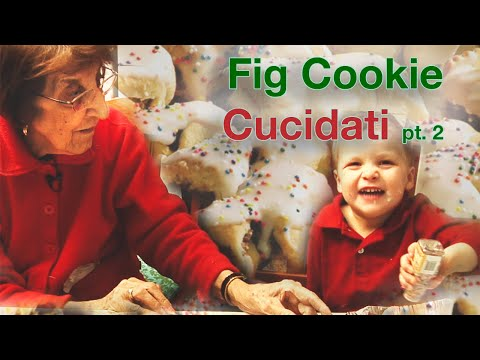 Holiday Cooking: Sicilian Fig Cookies - Part II