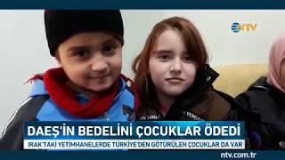 Iraktaki Yetimhanelerde Türkiyeden Götürülen çoc