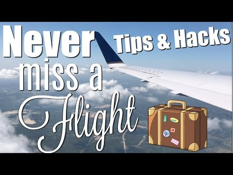 NEVER MISS A FLIGHT - TIPS & HACKS FOR BEGINNERS  Brittany Daniel