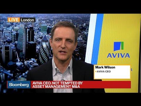 CEO Wilson Says Aviva Has Too Much Capital