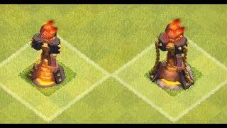 Construimos la primera torre inferno   Clash of Clans
