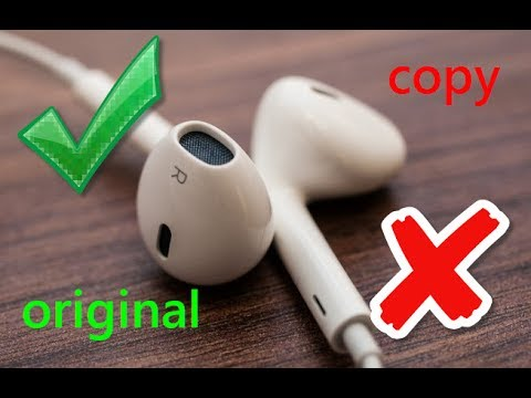 Как отличить оригинал EarPods от копии и подделки