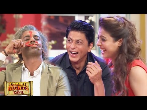 Shahrukh Khan Laughs NON-STOP At Sunil Grover's Antics | Comedy Nights With Kapil