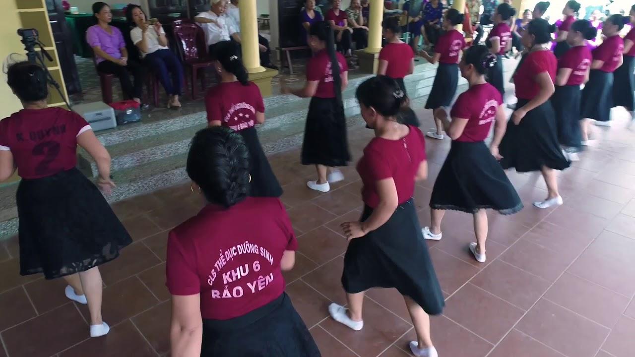 Khiêu vũ thuyền hoa – CLB dưỡng sinh  Bảo Yên