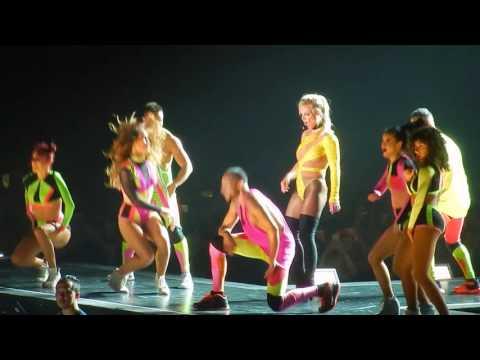 Missy Dance Break【Britney : Live In Concert】6/3 Tokyo Japan