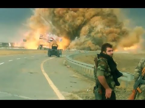 War on ISIS | Iraq  -2017 | Explosions