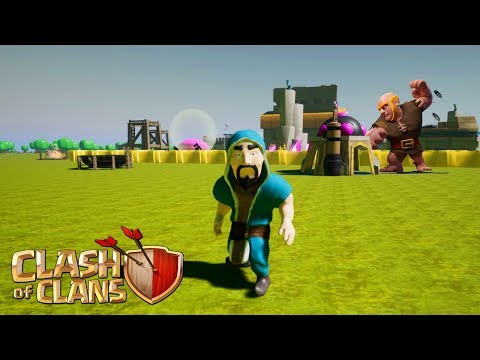 What if Clash of Clans was a FIRST PERSON 3D Game?! | Clash of Clans in 2018? [CoC 2018]