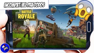 😱 APK OF FORTNITE RUNNING ON INCOMPATIBLE DEVICES 🔥 (DOWNLOAD IN DESCRIPTION)