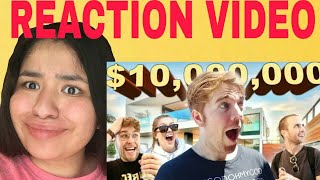 "Shane Dawson ""$10 Million Celebrity Mansion for a Day"" REACTION!"