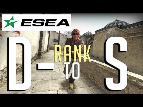 [ESEA] Rank D- To S | Episode 1