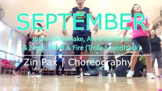 September (Trolls Soundtract) | Zin Pax Zumba Choreography