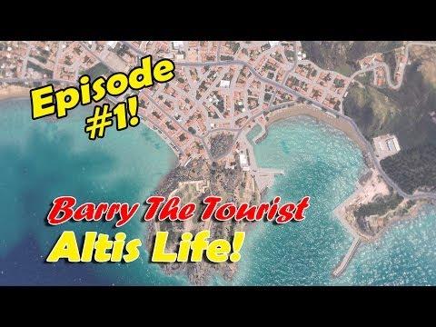 "Arma 3: Altis Life │ Barry the Tourist │Episode #1 │ ""Karaoke anyone?"""