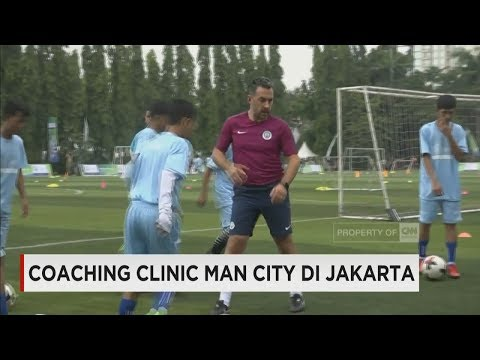 Coaching Clinic Manchester City di Jakarta