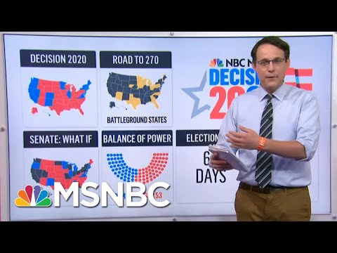 New Polls Show Race Virtually Unchanged After Conventions   MSNBC