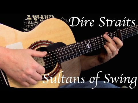 how to play sultans of swing on acoustic guitar