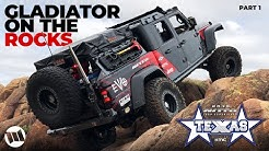 Jeep Gladiator by EVO Off Road Rock Crawling Texas at NITTO JEEP EXPERIENCE : MILD 2 WILD - PART 1