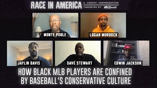 Jaylin Davis, Dave Stewart, Edwin Jackson on MLB inequality | Race In America | NBC Sports Bay Area