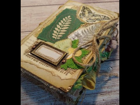 Rustic Nature/Woodland Journal DT Project for Tracie Fox