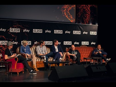 Slush PLAY 2016 // Fireside Chat: Swimming in a red ocean
